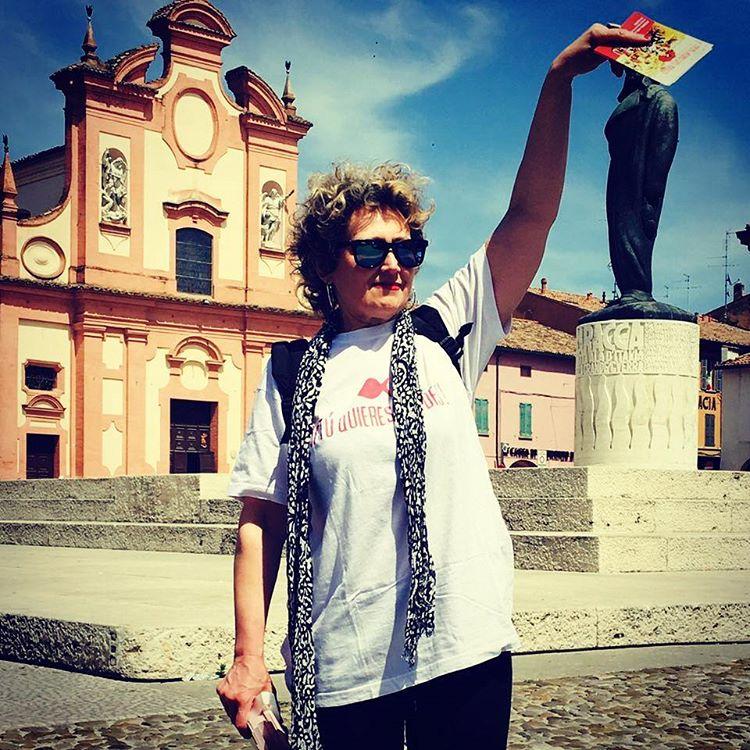 Volantinaggio a Lugo