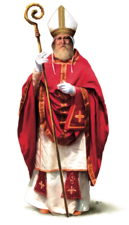 Storia Di San Nicola E Babbo Natale.Festa Di San Nicola E Del Vischio Argentaweb